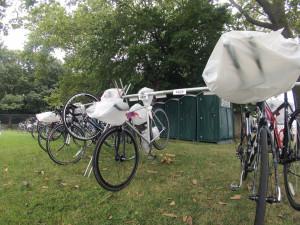 2013 NYC Triathlon - Setup