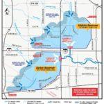 Addicks and Barker reservoirs map