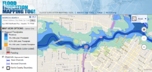 Harris County Flood Education Mapping Tool