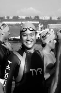 2013 NYC Triathlon - Swim